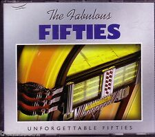 Fabulous Fifties UNFORGETTALBE 50's 3CD Classic Rock HEARTLAND MUSIC JIM REEVES
