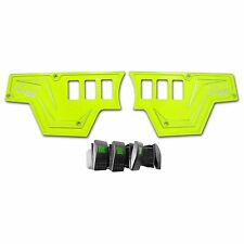 XP1000 3 piece Dash Panel (ONLY) Lime Squeeze RZR 2-4 Door Plate Kit 2014 USA