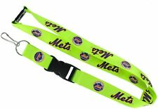 New York Mets Lanyard, Green Neon