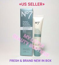 BOOTS NO 7 PROTECT & PERFECT ADVANCED Beauty Serum ANTI-AGING BNIB 1 fl.oz  TUBE