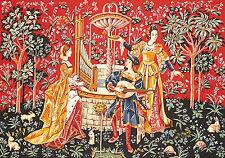 SEG de Paris arazzo/Ricamo Ad Ago Tela Concerto a the fontana (XV Secolo)