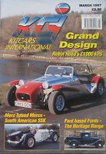 Kitcars International 03/1997 featuring Robin Hood, Hawk Ace, Ford, Mercedes