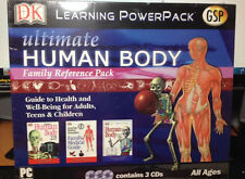 Anatomy DK Learning PowerPack  Ultimate Human Body Family Reference 3 CD ROM PC