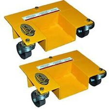 NEW! PALLET RACK MOVER DOLLIES - 1 PAIR!!