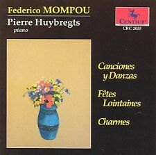 Pierre Huybregts-Frederico Mompou Works For Pia CD NEW