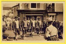 cpa Pays Basque DANSEURS SOULETINS Phototypie LABOUCHE Frères, TOULOUSE