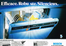 PUBLICITE ADVERTISING 065  1979  BOSCH  lave vaisselle  ( 2 pages)