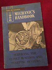 1956 Ford Mechanics Servicing Guide 12 Volt Ignition Starting Systems Canada USA