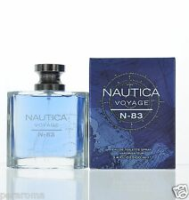 N83 Voyage by Nautica  Eau De Toilette 3.4 oz 100 ml Spray