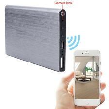 5000MA Power Bank WiFi Spy Hidden Camera Motion Detection Night Vision 1080P DVR