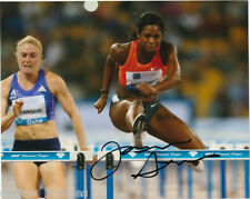 Jasmin Stowers USA Hurdles Autographed Signed 8x10 Photo COA
