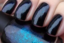 New OPI Go Goth ~UNRIPENED~ Black Duochrome Teal Blue Purple Nail Polish Lacquer