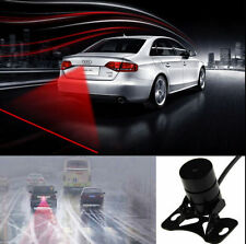Car Red Laser Fog Rear Anti-Collision Safety Taillight Warning Signal Light Lamp