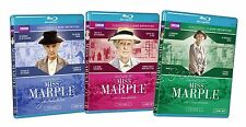 Miss Marple: Complete 1-3 (Blu-Ray Disc) Volume 1 2 3 (BBC TV Series) NEW