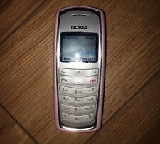 Nokia 2115i Vintage Cell Phone Pink Excellent Condition Works ! Unlocked