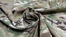 "MULTICAM MILITARY ULTRA SOFT NYLON RIPSTOP CAMOUFLAGE FABRIC 60""W TASLIN WASHED"