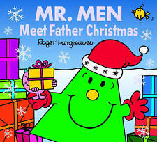 NEW - MR MEN MEET FATHER CHRISTMAS ( BUY 5 GET 1 FREE book ) Little Miss