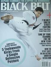 3/13 BLACK BELT MAGAZINE G.K. LEE HAN WOONG KIM HAPKIDO KARATE MARTIAL ARTS TKD