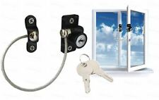 Child Safety Window Lock Key Cable Window Restrictor Child Proof Security Wire