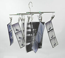 darkroom Film drying rack for 35mm 120 4X5 8X10 & prints 10 clips collapsible SS