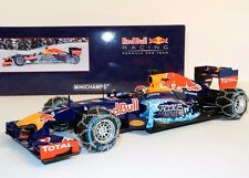 Max Verstappen Red Bull RB7 Snow Demo Run Kitzbuhel ltd edt 1:18 Minichamps