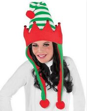 Christmas Elf Laplander Hat - One size fits most teens and adults - 392046
