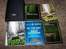 2011 Ford Fiesta Owner Owner's User Guide Operator Manual S SE SEL SES 1.6L 4Cyl