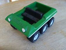 PRESSED STEEL TOYS - RARE MINI TONKA GREEN 6 WHEEL AMPHIBIOUS ATV  VEHICLE