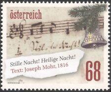 "Austria 2016 Christmas/Greetings/""Silent Night""/Carols/Bells/Music 1v (at1227)"
