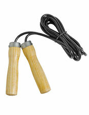Ultimate Zori Wooden Ball Bearing Skipping Rope Speed Rope Boxing Leather Train