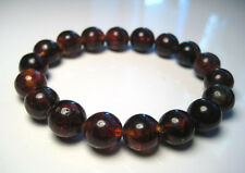Round Beads Baltic Amber Bracelet  13-14gr  18beads 11mm
