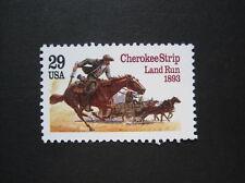 USA MiNr. 2353 postfrisch 'Cherikee Strip' (T 904)