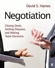 FAST SHIP - BY DAVID S. HAMES 1e Negotiation: Closing Deals, Settling Disput Y94