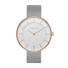 Skagen Women's Gitte Steel-Mesh Watch SKW2583