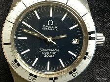 1972 Rare Vintage Omega Seamaster Cosmic 2000 Automatic Cal.1481 Diver's Watch