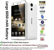 "Ulefone Power 5.5"" Dual SIM Android 5.1 Smartphone Mobile Octa Core 3GB RAM 4G"