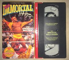 WWF - The Immortal Hulk Hogan (VHS, 1992) WWE WCW NWO COLISEUM VIDEO RARE