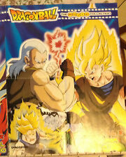DRAGONBALL Z i tre super Saiyan DE AGOSTINI poster dragon ball movie collection