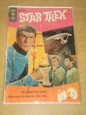 STAR TREK #1 G (2.0) GOLD KEY COMICS JULY 1967 SCARCE