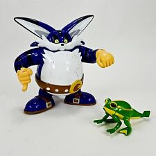 "Sonic X Big the Cat 6"" Action Figure w/ Frog 2000 Hedgehog SEGA Toy Island"