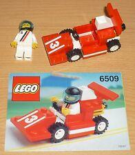 Lego City 6509 Rennwagen Nr. 3 v. 1991 + OBA
