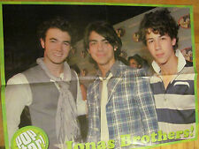 The Jonas Brothers, Demi Lovato, Double Four Page Foldout Poster