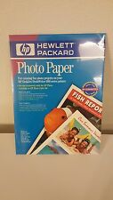 HP Photo Paper Satin 2-sided Gloss/Matte #C1846A 8.5 x 11 in -20 Sheets