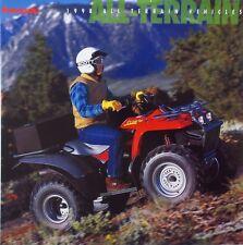 OEM KAWASAKI 1998 ATV Sales Brochure Prairie Bayou Lakota Mojave