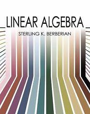 Linear Algebra (Dover Books on Mathematics), Berberian, Sterling K.