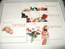 L'amour Love Songs 128 songs Lamour Love songs [Box] 8 cd set