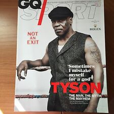 GQ SPORT MAGAZINE - SUMMER 2011 - MIKE TYSON ON FRONT COVER