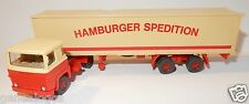 WIKING HO 1/87 CAMION SCANIA SEMI REMORQUE HAMBURGER SPEDITION