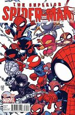 SUPERIOR SPIDERMAN 32 SKOTTIE YOUNG INTERLOCKING VARIANT SPIDER-VERSE KUBERT