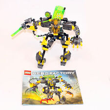 LEGO Hero Factory 44022 EVO XL MACHINE incomplete + hf001 personaggio inkomplett k104
